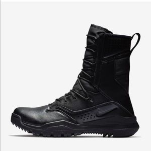 Nike Special Field Systems Black Tactical Boots